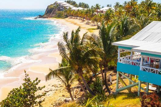 Antigua beach house