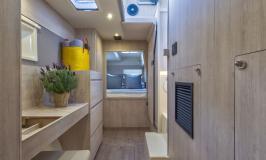Owner cabin corridor