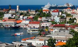 Grenada waterfront