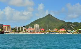 Simpson Bay waterfront