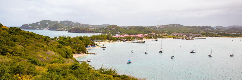 Harbor in Martinique